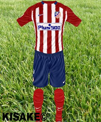 101e94b54 Atlético Madrid Home by Kisake (Liga + LDC