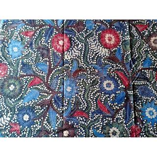 Batik Tulis Motif Block Love