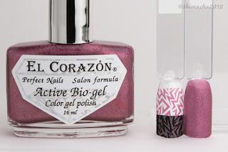"El Corazon ""423/24"" (Prisma collection), スタンピングネイル"