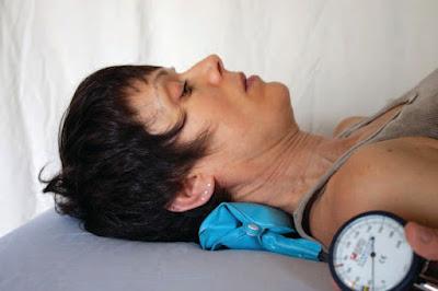 Craniocervical Flexion Test Example - Chiropractor El Paso