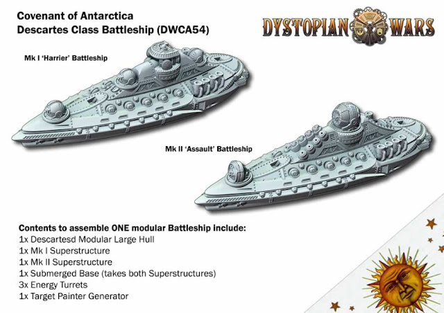 Spartan Games: Cool Dystopian Wars Battleships