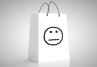 A mood free shopping bag.
