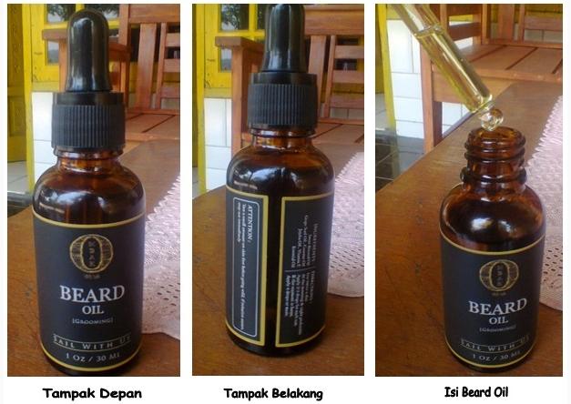 Ciri Asli Ombak Beard Oil dari Kemasan dan Isi Cairan