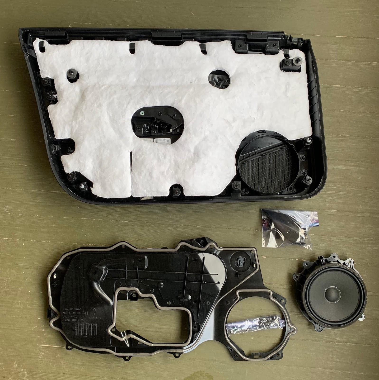 Tesla Model 3 Stereo - Part 1: Door Insulation