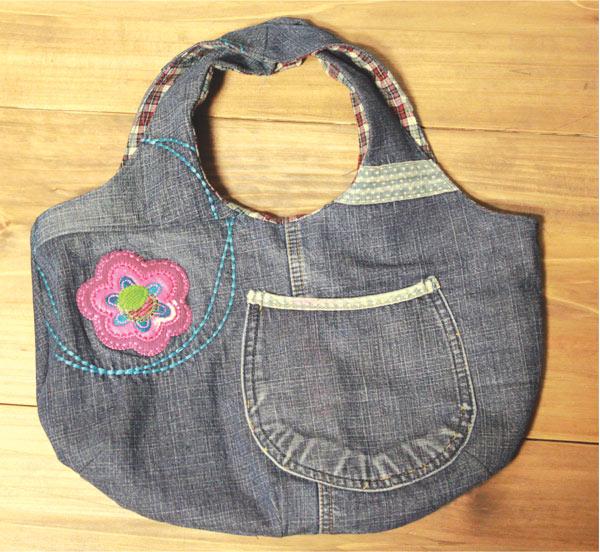Step to Step Jeans Bag Tutorial.