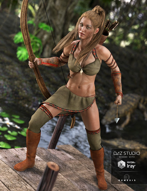 Jungle Goddess for Genesis 3 Female