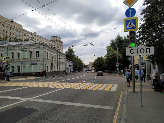 Москва, Спартаковская улица