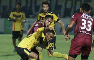 Barito Putera vs PSM Makassar Imbang 2-2 Hasil Liga 1 Minggu 29/10/217