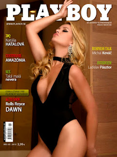 Playboy Eslovaquia – Mayo 2018 PDF Digital