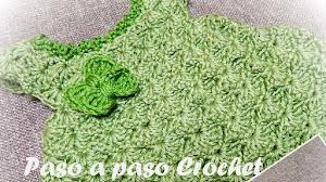 Vestido para Niña de 0 a 1 año - Video Tutorial Crochet
