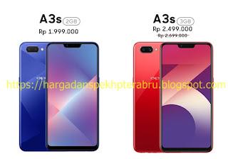Harga dan Spesifikasi Handphone OPPO A3s