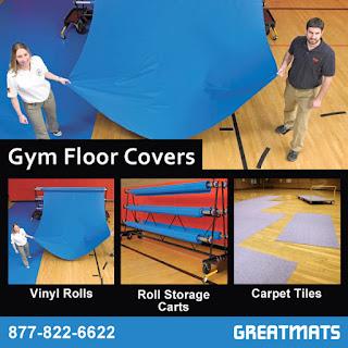 Greatmats Gym Floor Covers Court Floor Covers