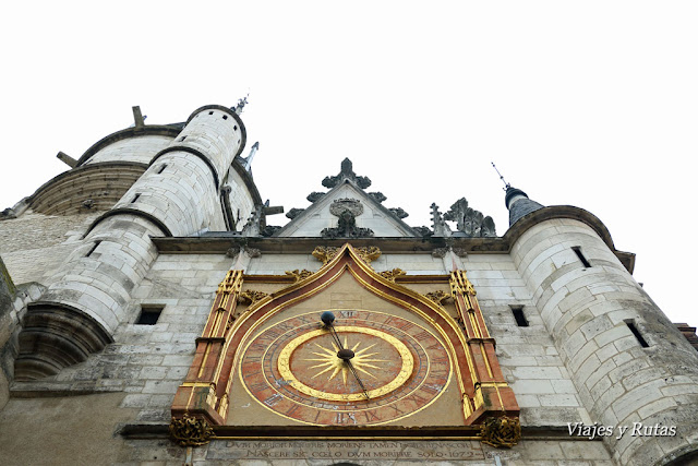 Torre del reloj, Auxerre, Francia