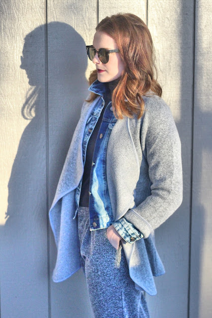 How to wear layers in winter