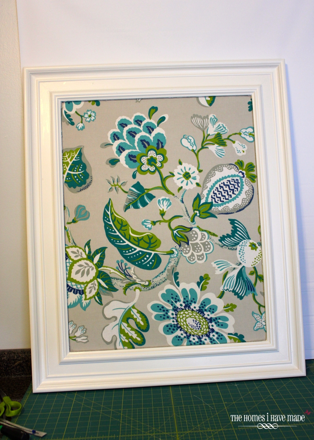 How To Fabric Covered Bulletin Board The Homes I Have Made