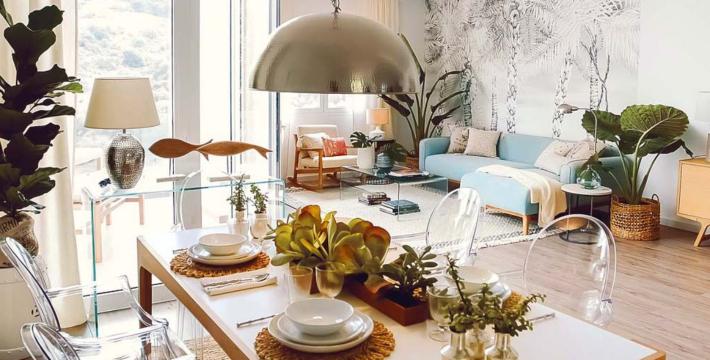 La casa en Canarias de una famosa bloguera de moda