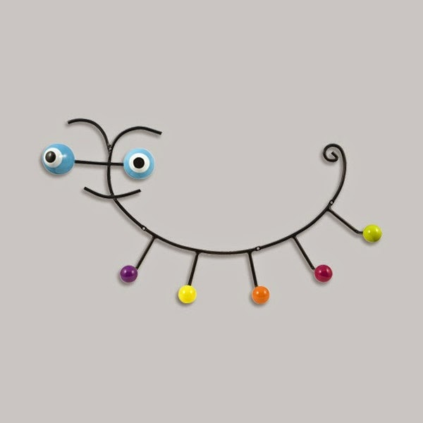 20 stylish wall mounted coat hooks creative designs for Kids room hooks