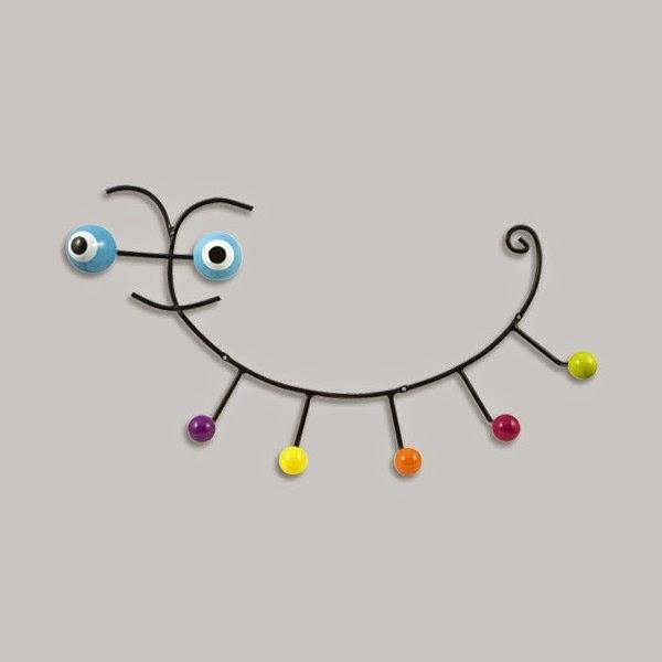 20 stylish wall mounted coat hooks creative designs for Kids room hooks