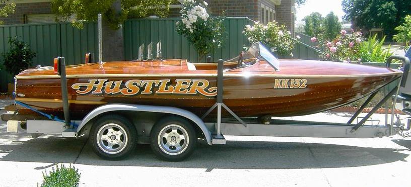 Hustler boat trailer