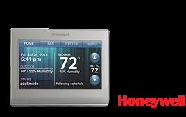 Honeywell Lutron Caseta WiFi Thermostat