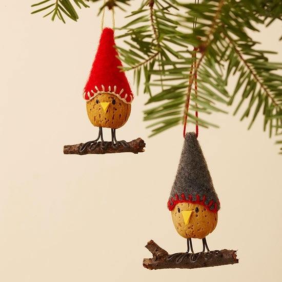 Cute Handmade Ornament Ideas for Christmas : Let's Celebrate!