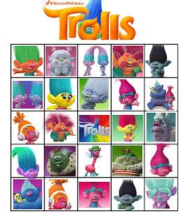free trolls bingo