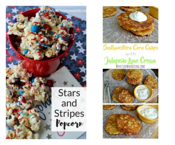 favorite ultimate pinterest party linked up stars and stripes popcorn and corn cakes
