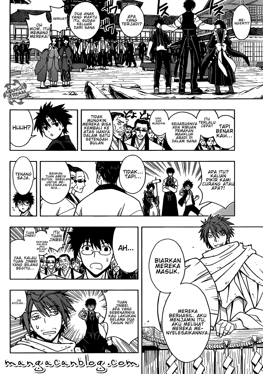 Baca Komik UQ Holder! Chapter 11 Bahasa Indonesia