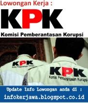 Lowongan Kerja KPK (Komisi Pemberantasan Korupsi)