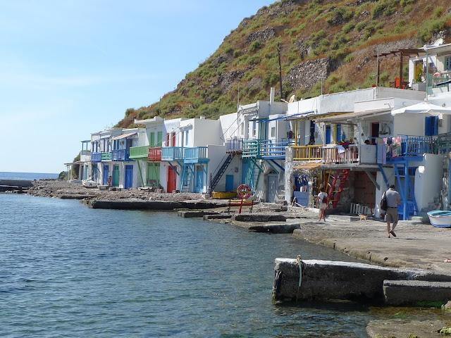 Kolorowe miasteczko Klima na Milos/Colorful village Klima on Milos