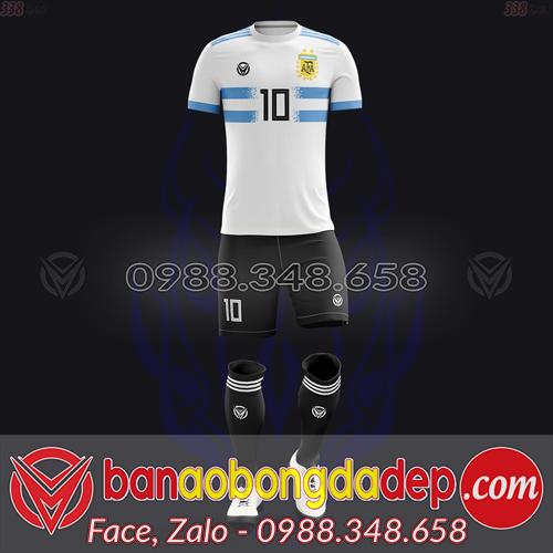 Áo Đội Tuyển Đặt May Theo Yêu Cầu - Mã ARGENTINA-01