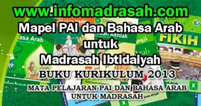 Buku Pegangan Guru dan Buku Siswa Mapel PAI dan Bahasa Arab Untuk Madrasah Ibtidayah (MI)