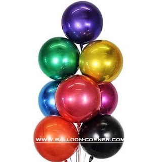Balon Orbz / Balon Foil Orbz (ANAGRAM)