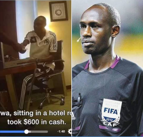 Kenyan Referee Kicked Out Of World Cup After Receiving $600 Bribe. Photos