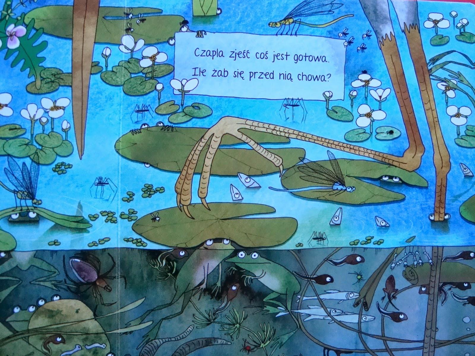 opowiem ci mamo co robią żaby, książka dla dzieci