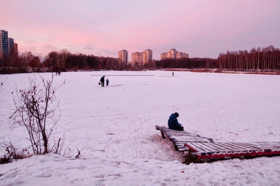 Озеро в декабре