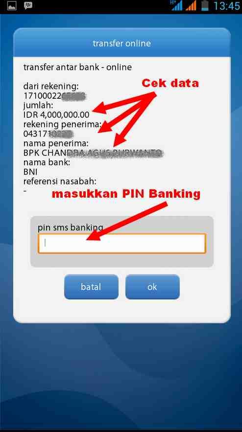 Cara Transfer Dari Bank Mandiri Ke Bni Via Mobile Banking Di Android Dunia Android