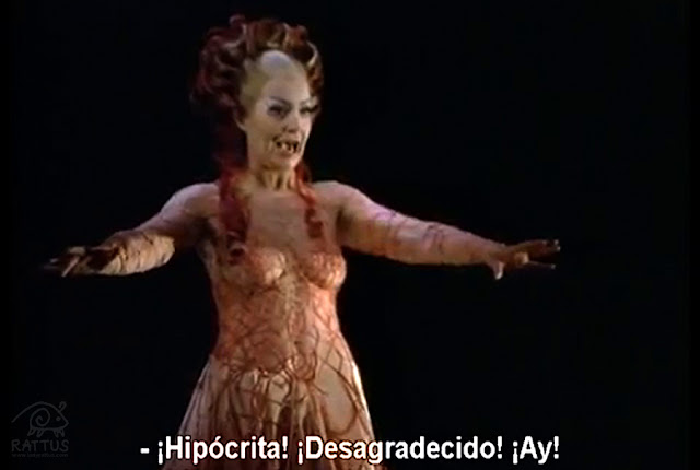 Gwyneth Jones as Chrysothemis, Elektra and Klytemnestra