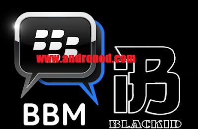 BBM Mod BlackID V3 Bluegrey Edition 3.0.1.25 Apk