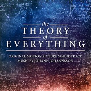 Portada del disco con la banda sonora de la película La teoría del todo