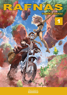 RAFNAS tome 1 de Yumiko Shirai aux éditions Komikku