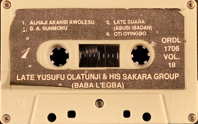 Nigerian Music Yoruba traditional Sakara musique traditionnelle African Africaine