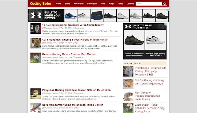 Kucing Sobo Free Responsive Blogger Template