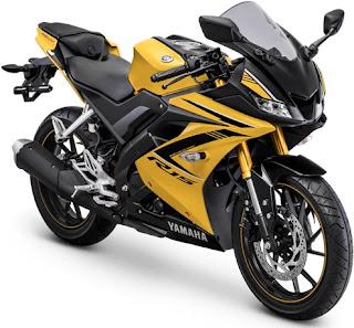 Yamaha R15 VVA Kuning - Harga Yamaha R15 VVA Terbaru, Promo Yamaha R15, Kredit Yamaha R15