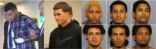 """Cuatro de los acusados de asesinar a """"Junior"""" se declararon """"no culpables"""""""