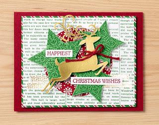 Stampin' Up! 2018 Holiday Catalog ~ Dashing Dear Bundle + Dashing Along Host Designer Paper