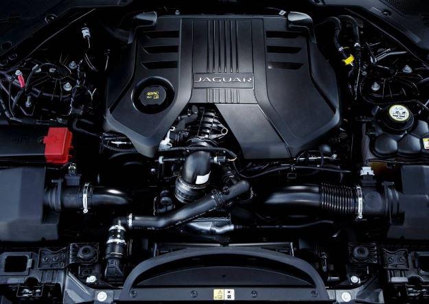 2017 Jaguar XF Engine