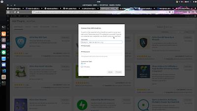 FIx Error Saat Install Plugin atau Themes pada Wordpress