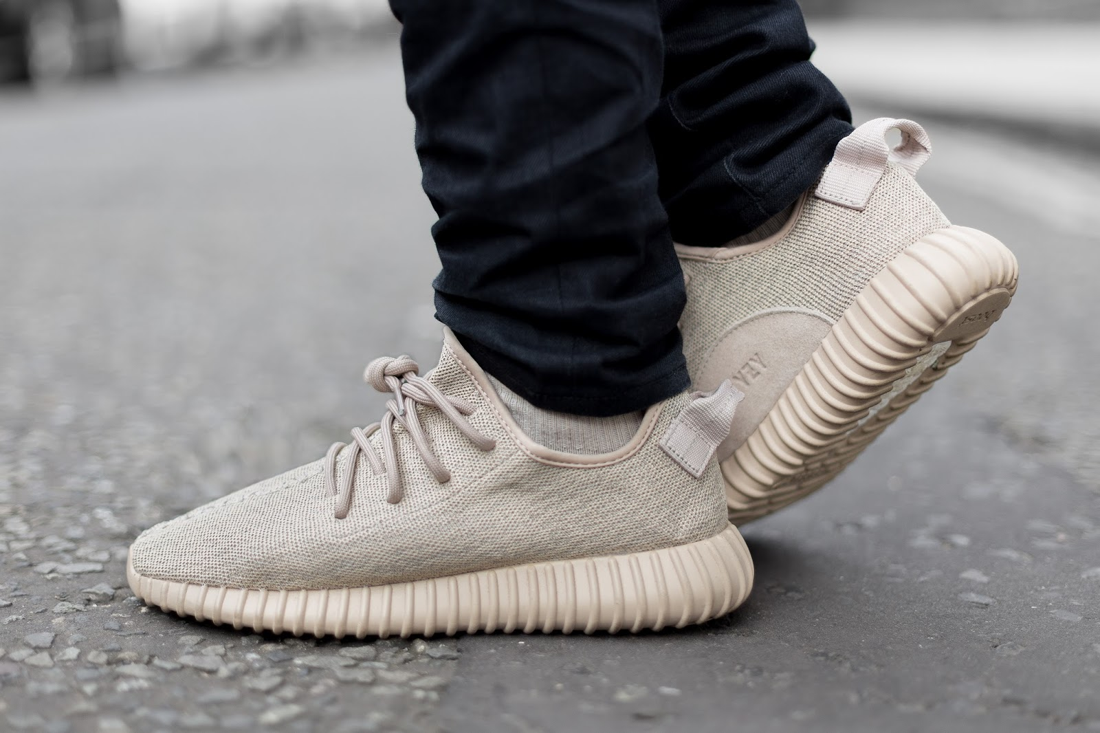 Adidas Yeezy Oxford Tan On Feet