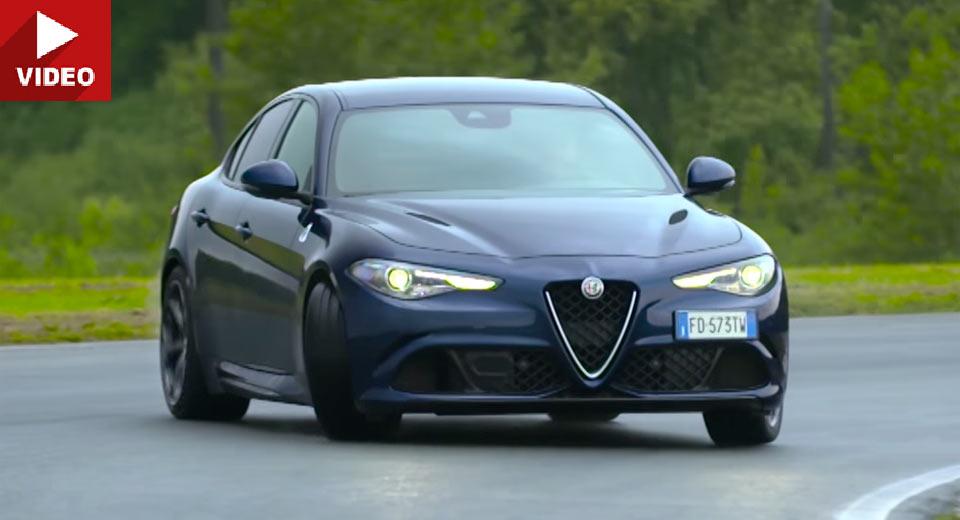 "Alfa Romeo Giulia Quadrifoglio Stars In ""Chris Harris Drives"" Premiere"